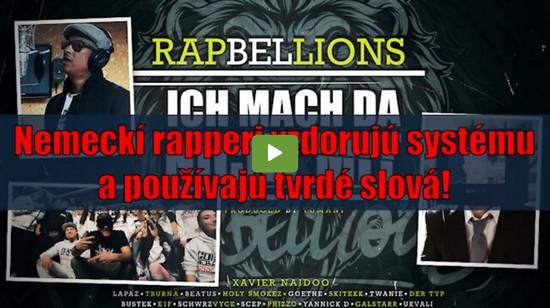 Nemeckí rapperi vzdorujú systému a používajú tvrdé slová!