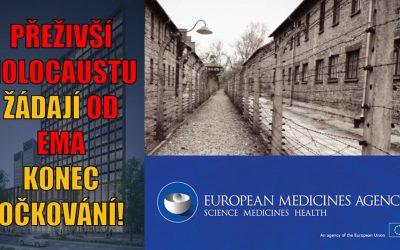 Přeživší holocaustu napsali organizaci EMA otevřený dopis a žádají konec očkování!